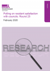Resident satisfaction survey front cover - Feb 2020