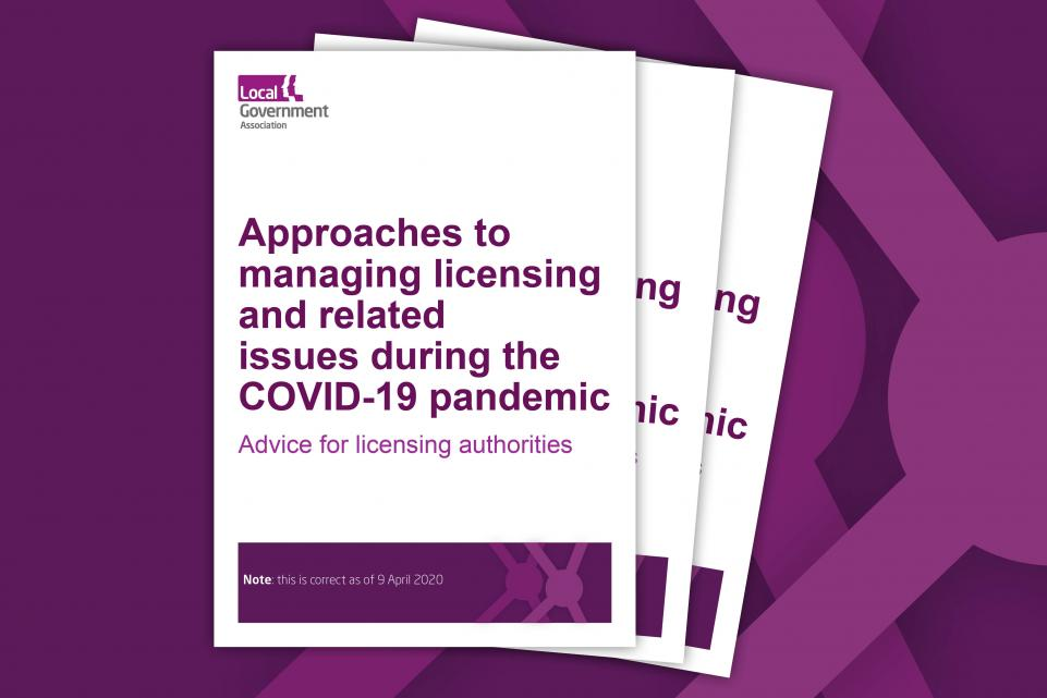 Approaches to managing licensing and related issues during the COVID-19 pandemic