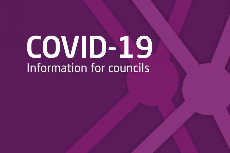 Coronavirus: information for councils