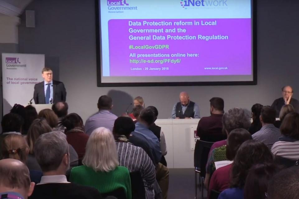 GDPR and data protection reform in local government